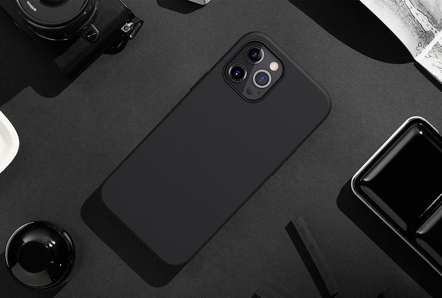 قاب ساده سیلیکونی برای iphone 12 pro max
