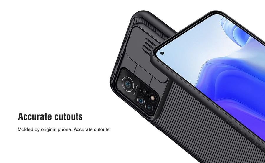 قاب محافظ کمشیلد نیلکین برای گوشی Xiaomi Mi 10T 5G/10T Pro 5G/K30 S