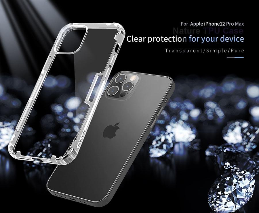 قاب ژله ای ساده iPhone 12 Pro Max