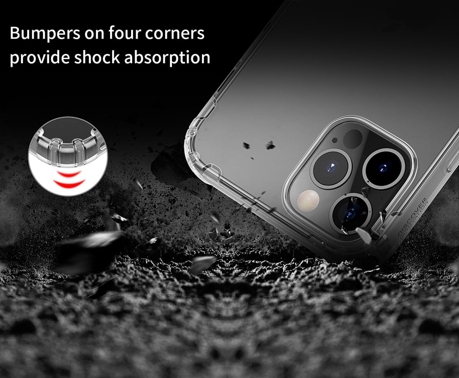 کاور محافظ ژله ای iPhone 12 Pro Max