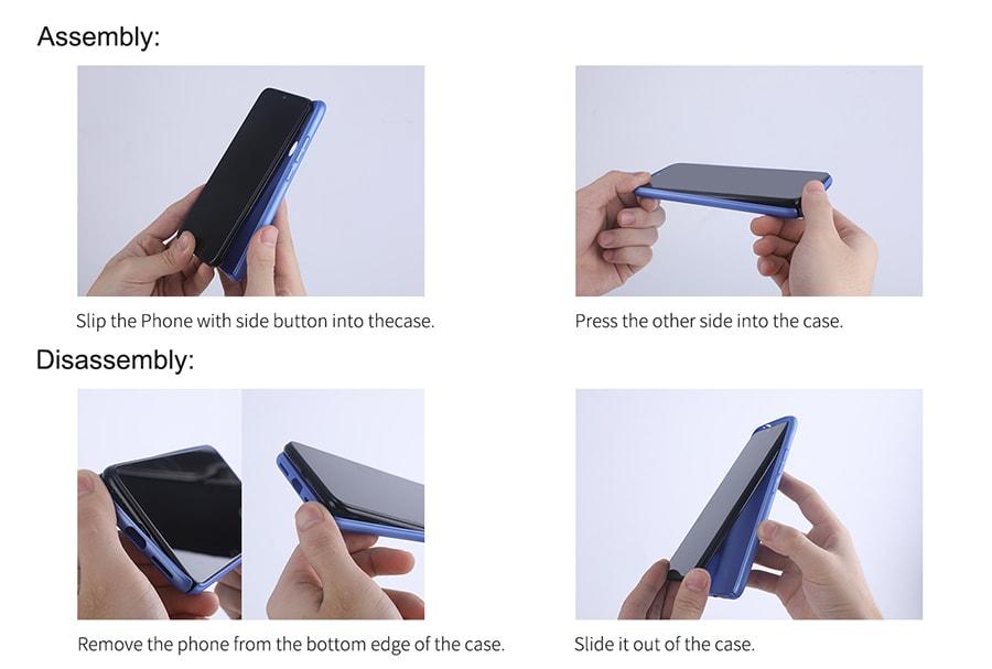 خرید آنلاین قاب Samsung A42 5G