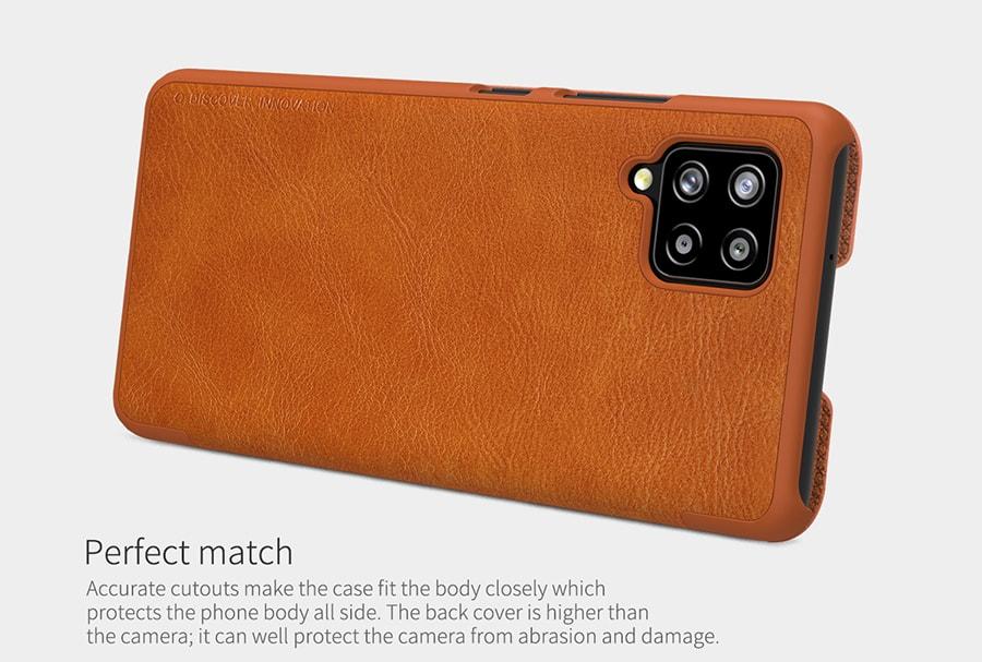 خرید آنلاین کیف چرمی گوشی Samsung A42 5G