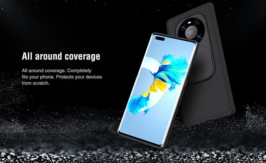 کاور محافظ مشکی Huawei Mate 40 Pro