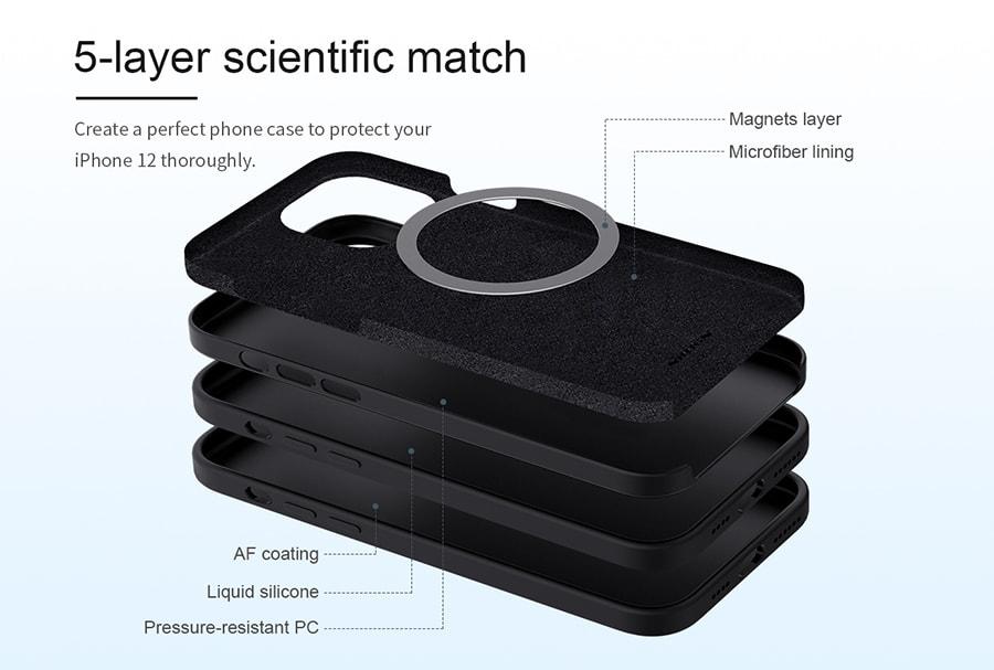 قاب سیلیکونی iphone 12 pro max