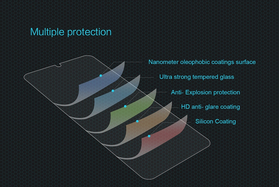 گلس نیلکین Amazing H Glass Samsung Galaxy A70/A70s