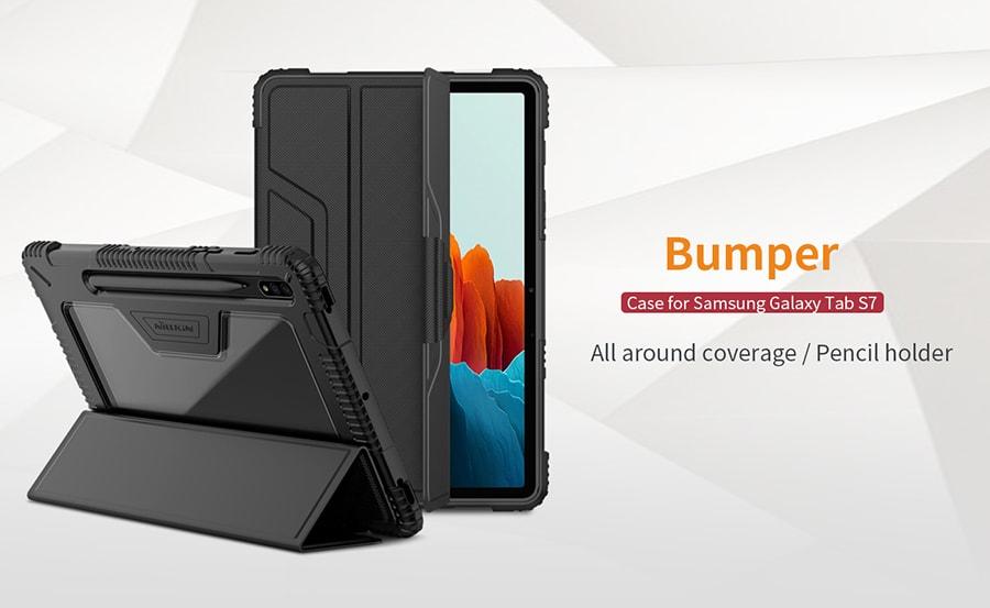 کیف چرمی Samsung Galaxy Tab S7