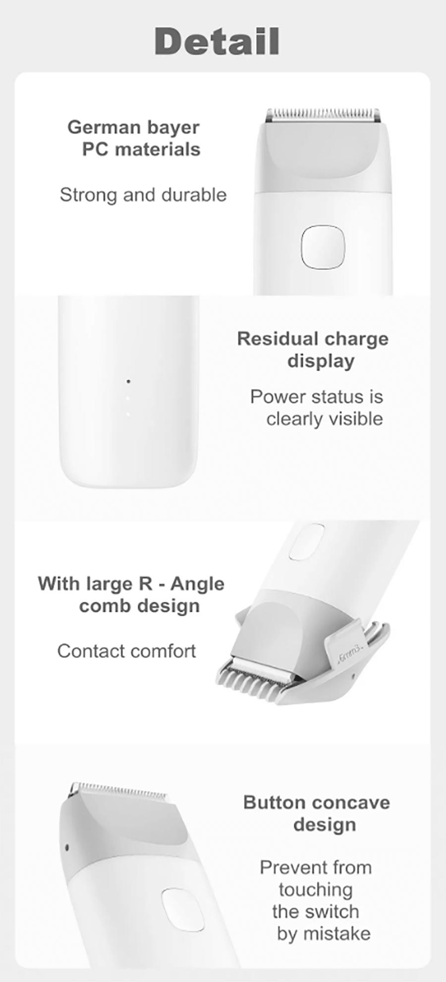 ماشین اصلاح موی خردسال Xiaomi MITU