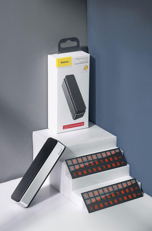 پایه شماره تلفن مخصوص ماشین