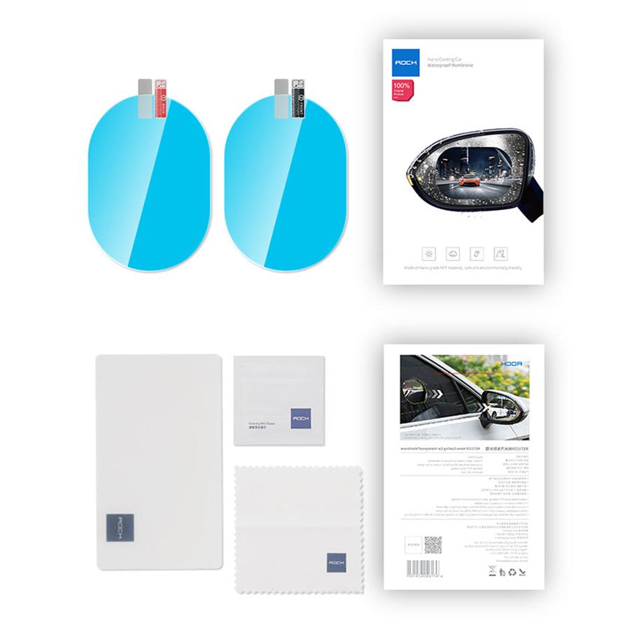 برچسب ضدآب آینه بغل خودرو راک