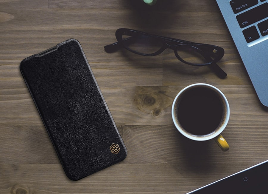 کیف چرم گوشی a01 samsung