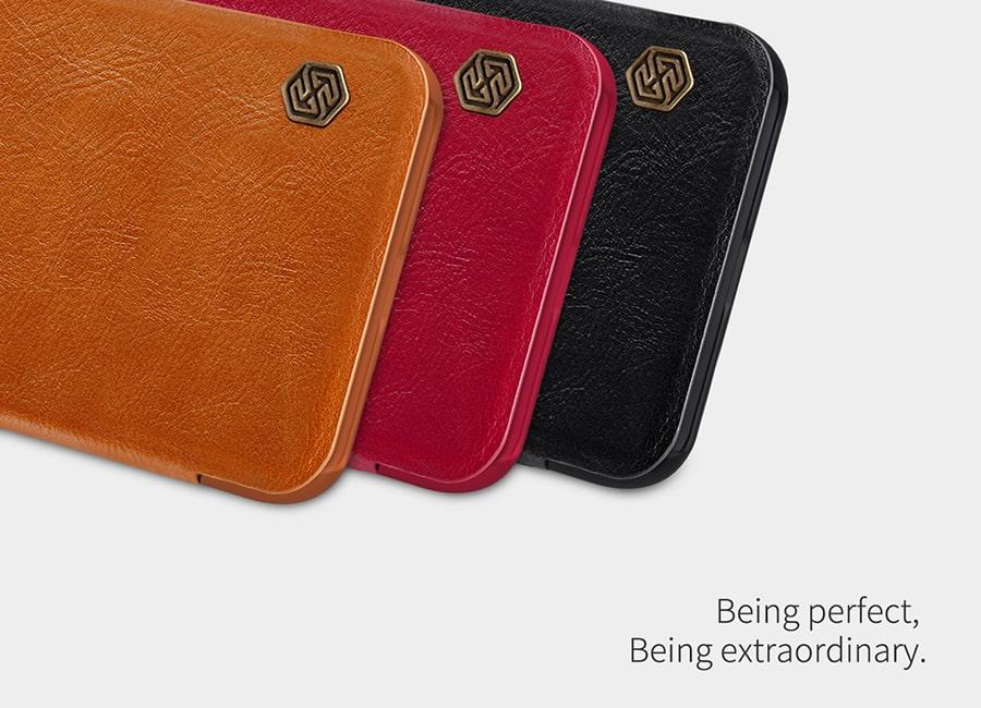 کیف چرم نیلکین برای گوشی Samsung Galaxy A01