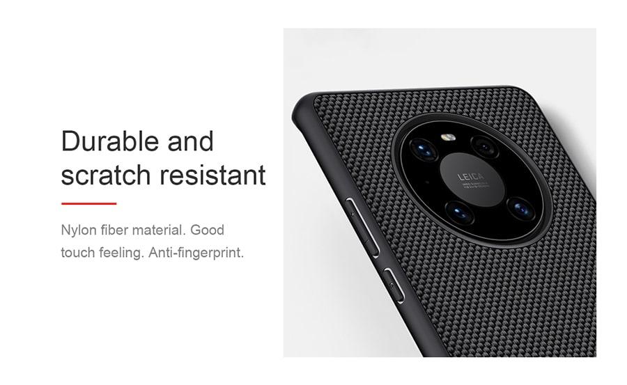 قاب تکسچر نیلین برای گوشی Huawei Mate 40