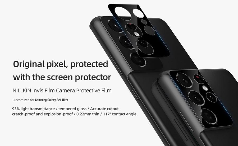 محافظ لنز گوشی Samsung Galaxy S21 Ultra