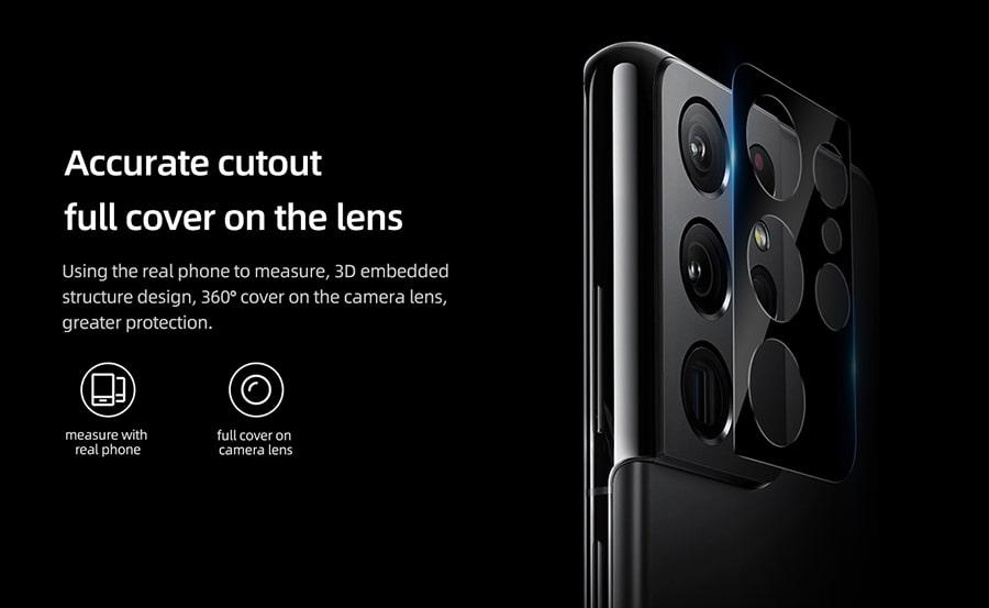 محافظ لنز Samsung Galaxy S21 Ultra
