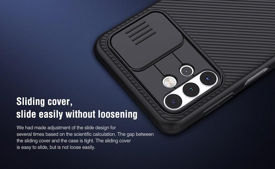 قاب کمشیلد نیلکین گوشی Samsung Galaxy A32 5G