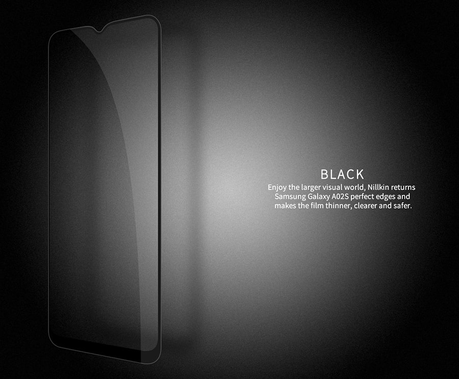 گلس حاشیه دار گوشی Samsung Galaxy A02s/M02s