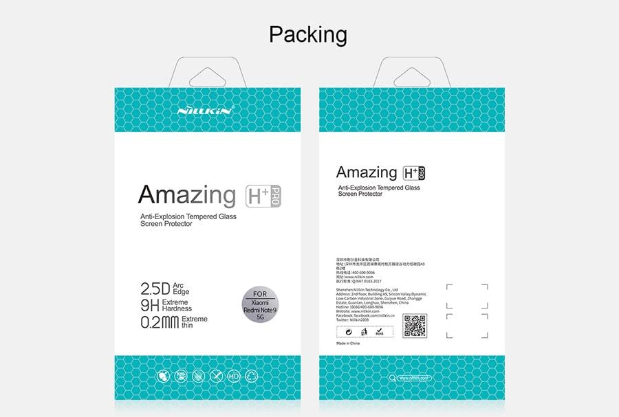 محافظ صفحه نمایش شیشه ای Xiaomi Redmi Note 9 5G