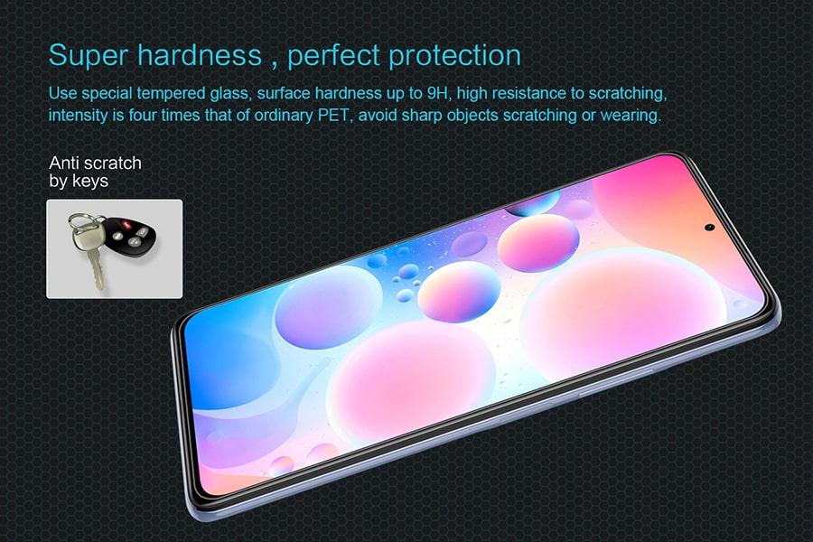 گلس نیلکین برای گوشی Xiaomi Redmi K40/K40 Pro/K40 Pro Plus