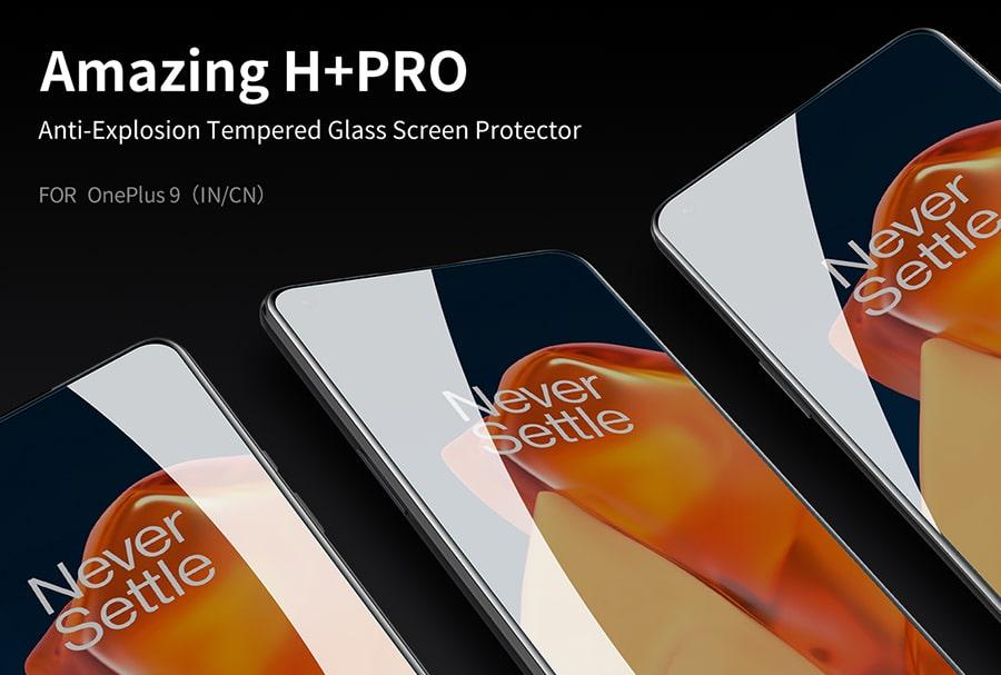 گلس نیلکین H+Pro Glass OnePlus9
