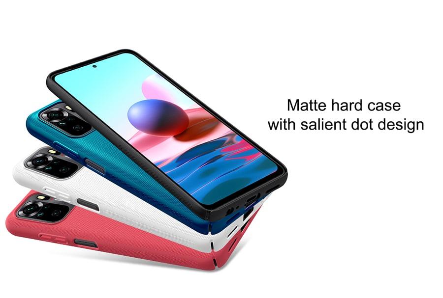 قاب فراستد نیلکین برای Xiaomi Redmi Note10 4G