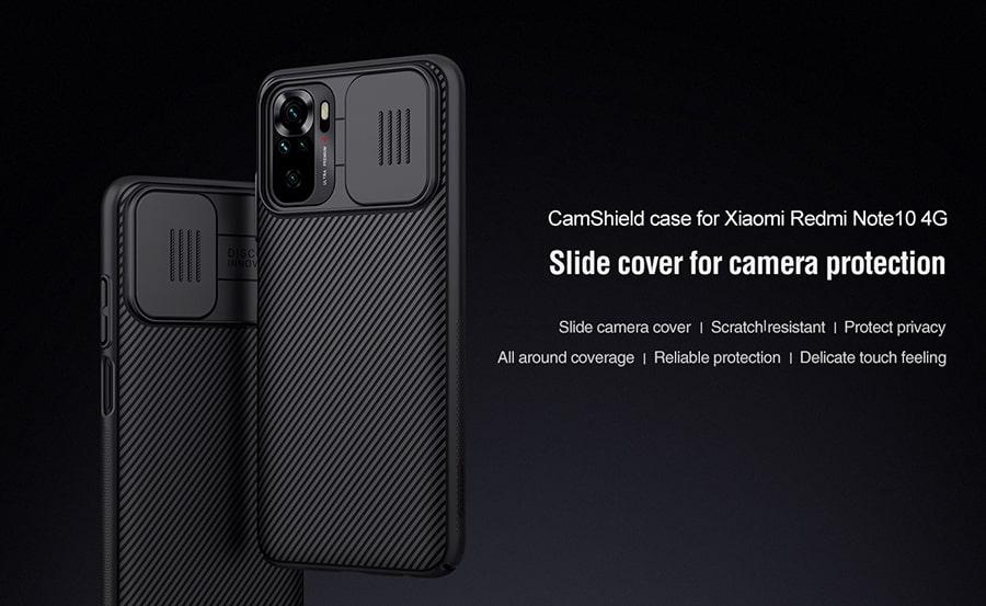 خرید اینترنتی قاب نیلکین برای گوشی Xiaomi Redmi Note 10 4G