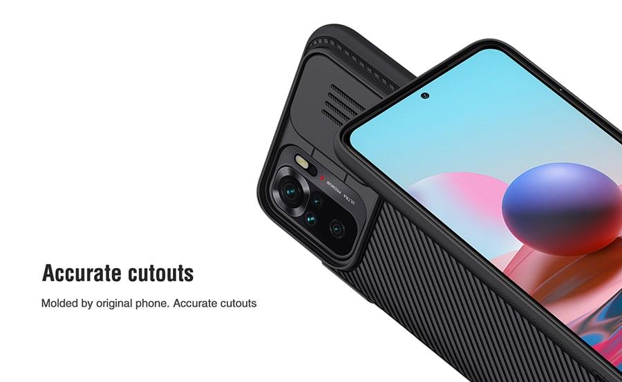 کاور محافظ لنزدار گوشی Xiaomi Redmi Note 10 4G