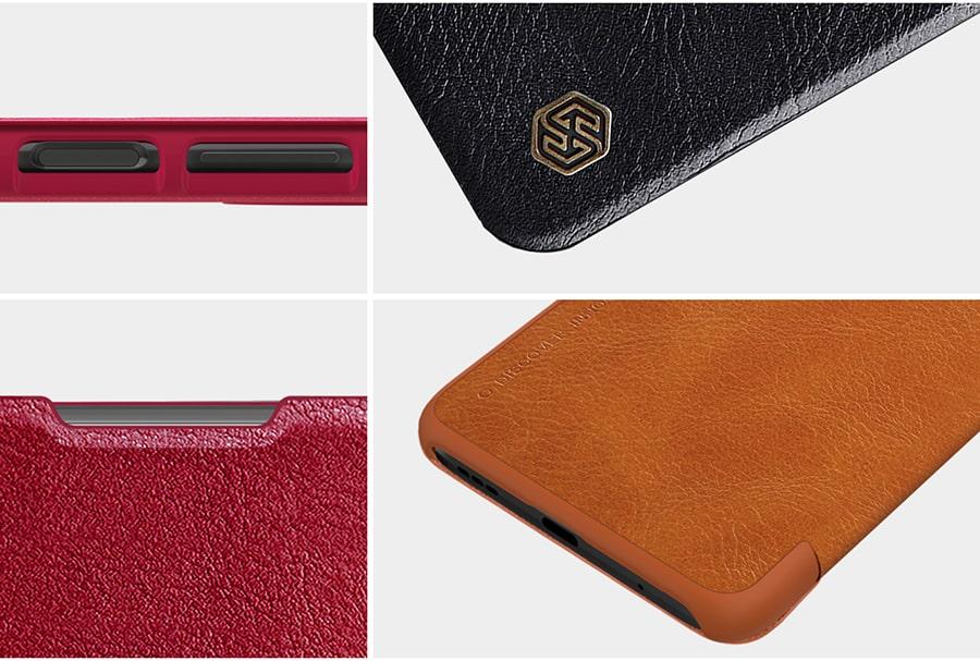 خرید کیف چرم مصنوعی برای گوشی شیائومی