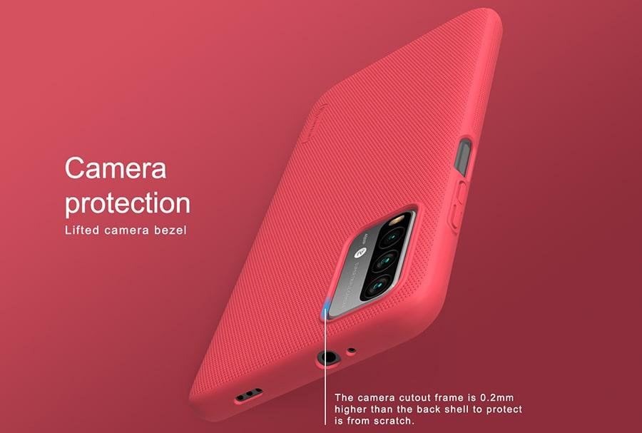 قاب فراستد نیلکین برای گوشی Xiaomi Redmi 9 Power