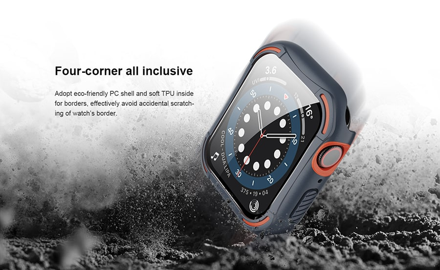 کاور محافظ برای Apple Watch44 Series 4/5/6/SE