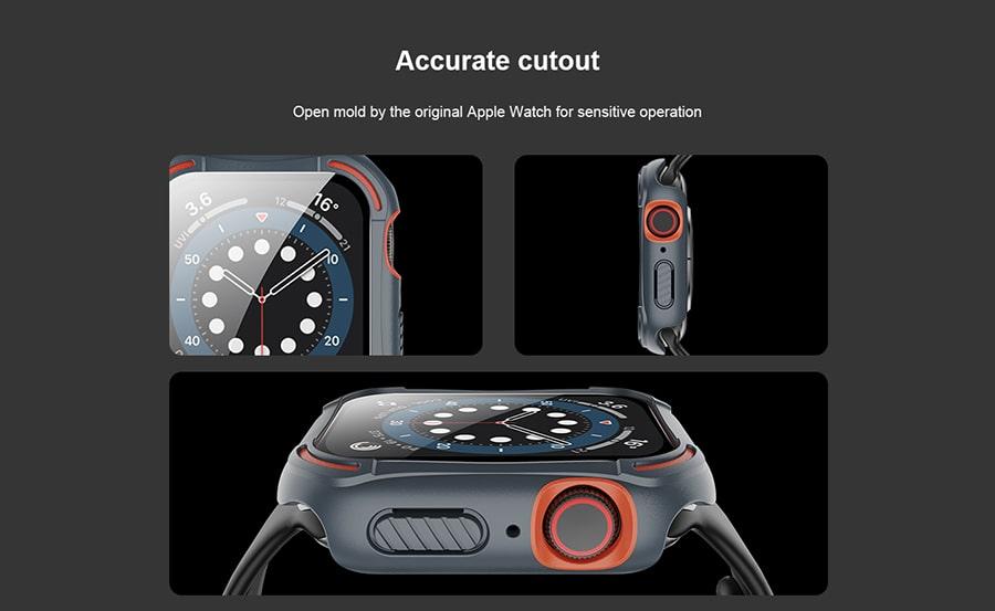 کاور نیلکین برای Apple Watch 40mm Series 4/5/6/SE