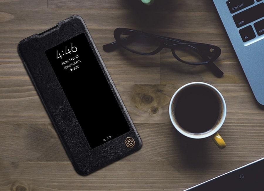 کیف چرمی Huawei mate 30