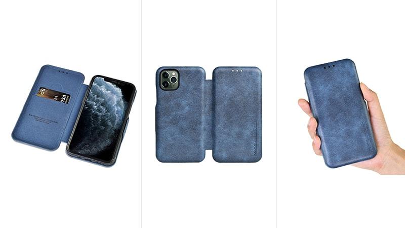 کاور چرمی iphone 11 Pro Max