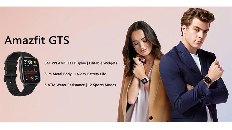 امکانات ساعت هوشمند شیائومی amazfit Gts